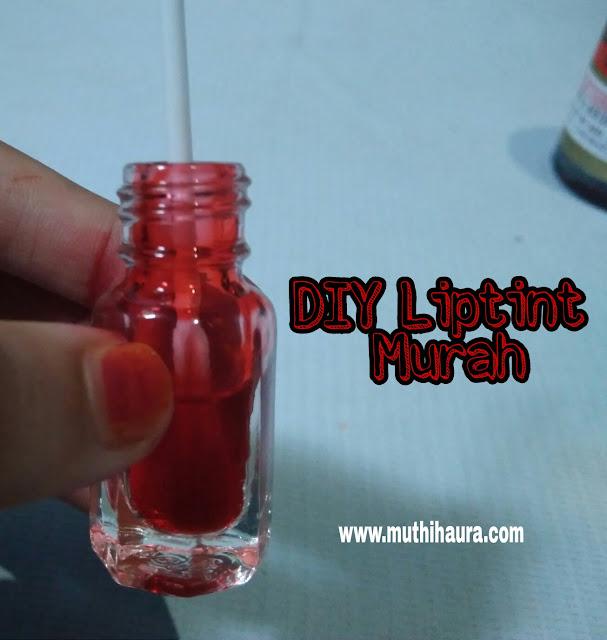 DIY liptint murah