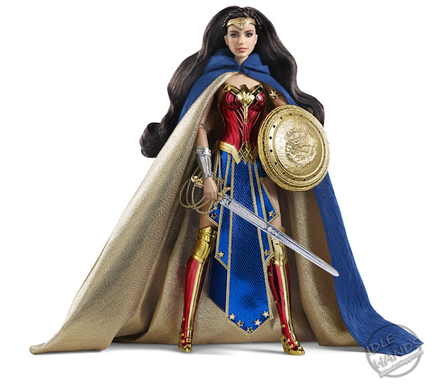 san diego comic-con 2016 mattel exclusive BARBIE AMAZON PRINCESS WONDER WOMAN DOLL