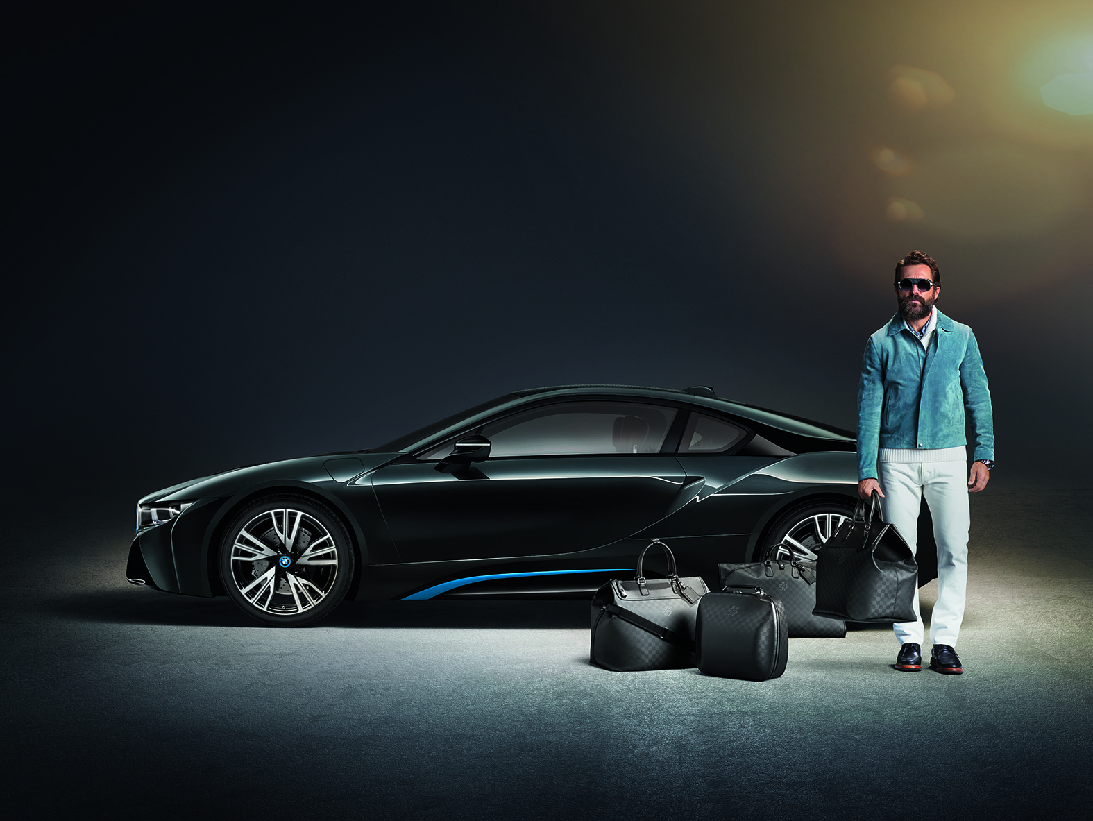 Louis Vuitton BMW i8 Collection
