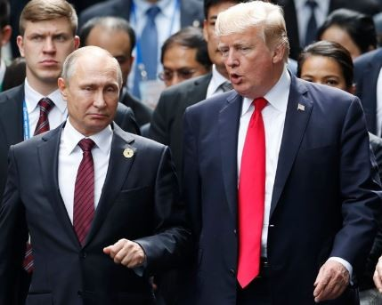 U.S. lawmakers describe President Trump and Putins summit in Helsinki as a 'show of treason'