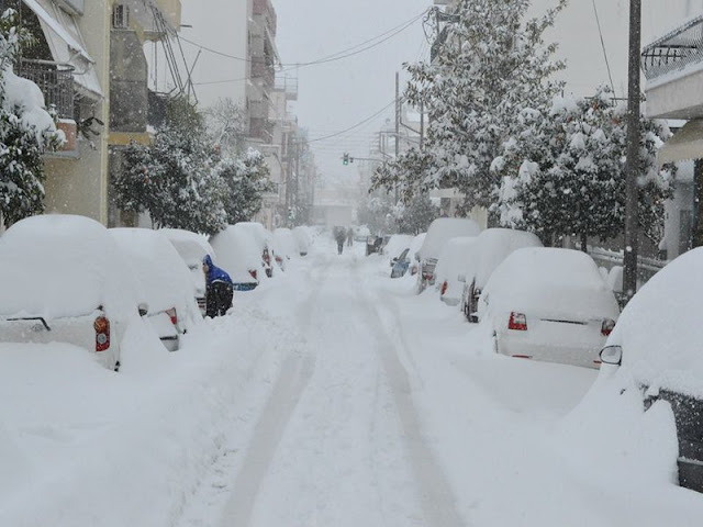 Προσοχή: Έκτακτο δελτίο της ΕΜΥ! Επέλαση νέου σφοδρού χιονιά έως την…
