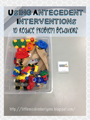 Behavior interventions in special education