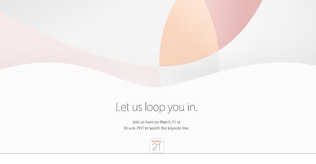 Apple's March 21 keynote live