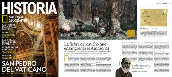HISTORIA National Geographic, La Fiebre del Caucho