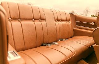 1975 Buick LeSabre Convertible Seat Rear