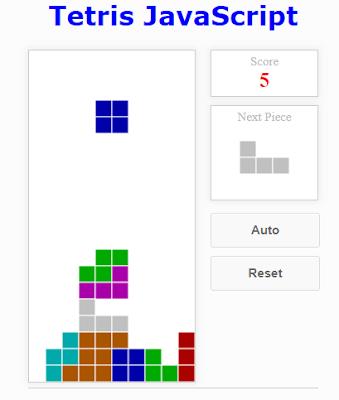 Membuat Game Tetris Menggunakan JavaScript