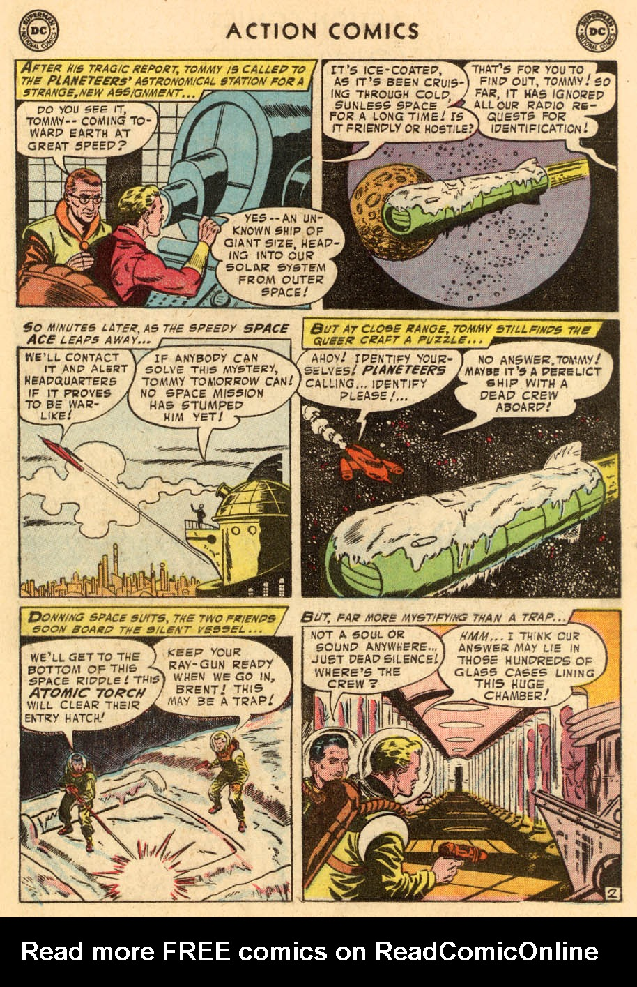 Read online Action Comics (1938) comic -  Issue #206 - 18