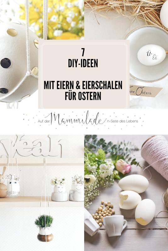 7 DIY-Nachmach-Ideen mit Eiern und Eierschalen für Ostern | https://mammilade.blogspot.de