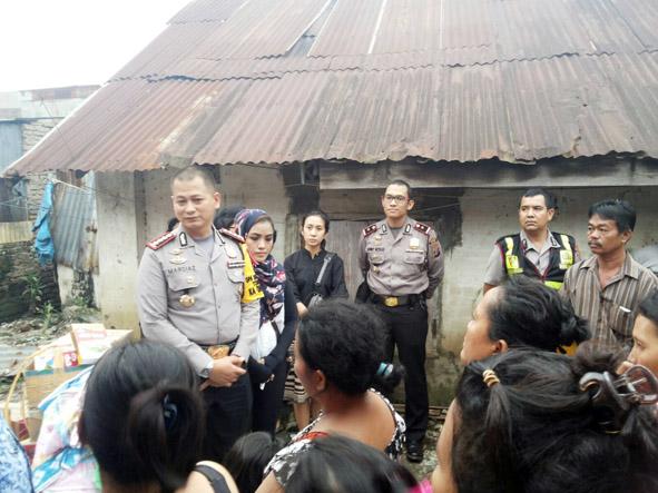 Polresta Medan Peduli Bencana Banjir