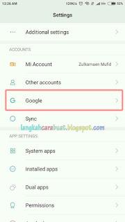 Cara Menghapus Akun Google Di Android Yang Tidak Di Butuhkan