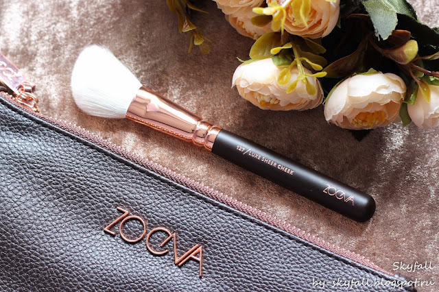 Zoeva 127 Luxe Sheer Cheek, кисть для нанесения румян, отзывы