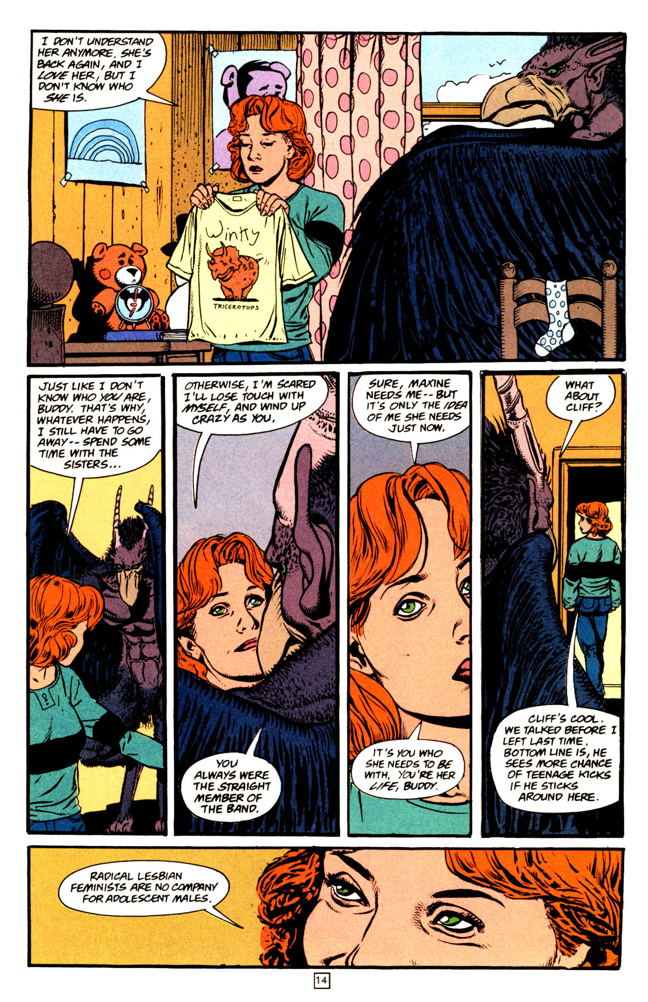 Read online Animal Man (1988) comic -  Issue #72 - 15