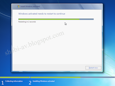 proses restart install windows 7 lengkap