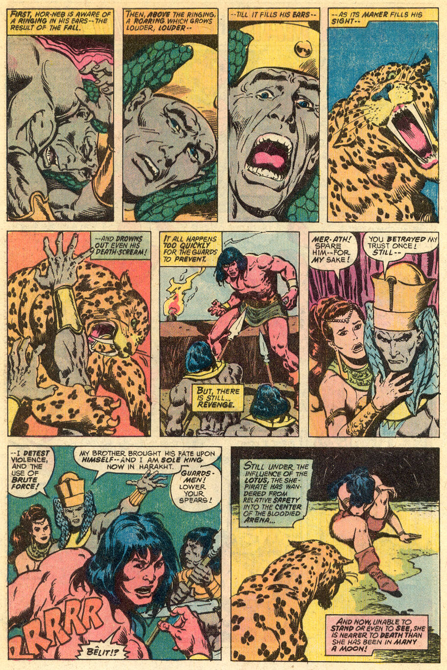 Conan the Barbarian (1970) Issue #77 #89 - English 17