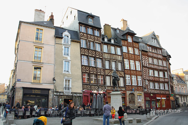 Plaza Champ Jacquet, Rennes