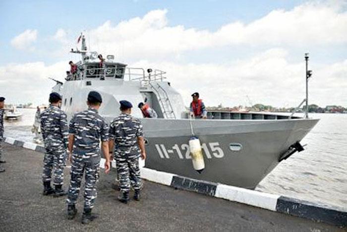 KAL Lemukutan, kapal buatan dalam negeri perkuat Lantamal XII Pontianak.