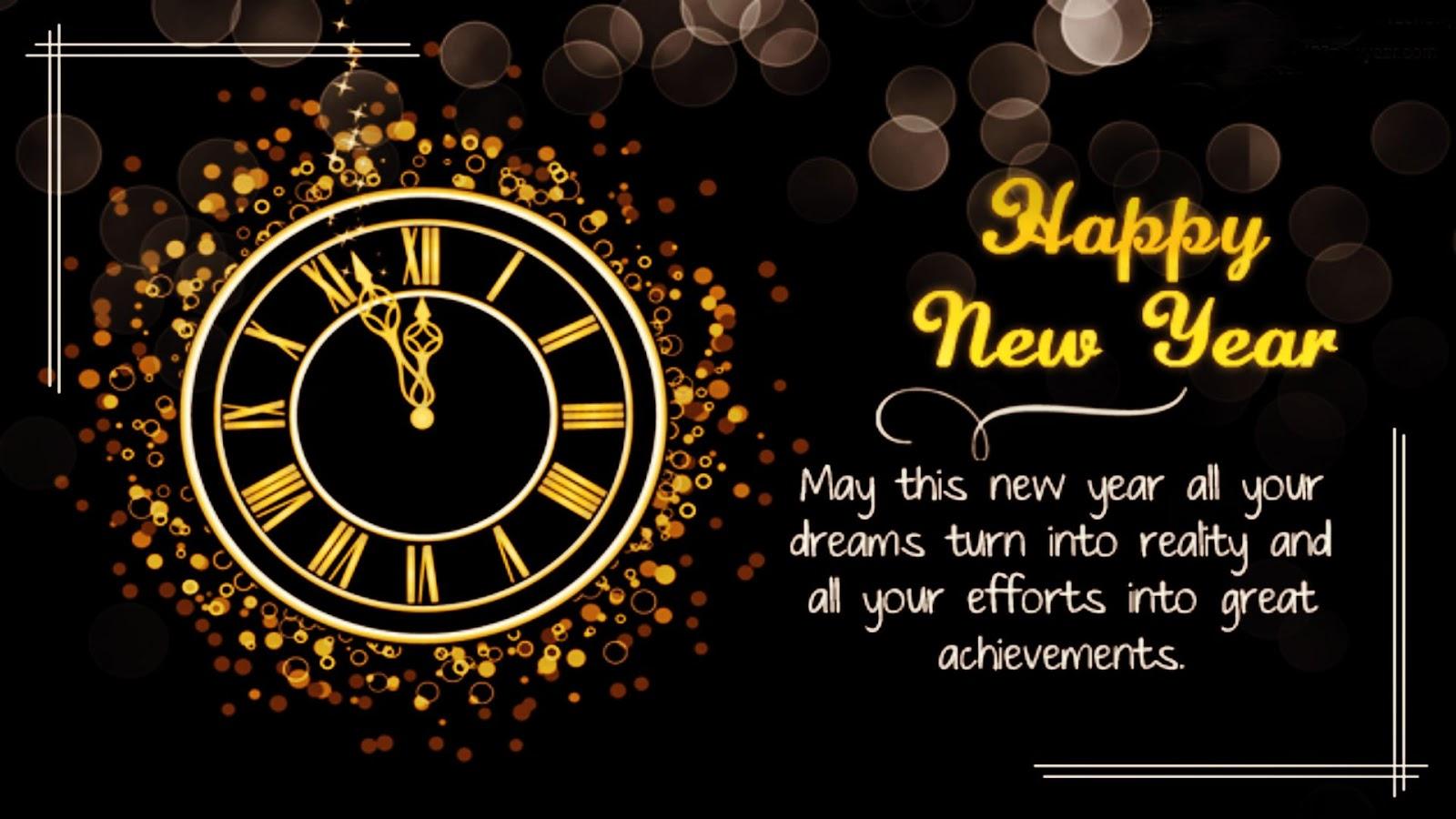 Gambar Kembang Api Tahun Baru Happy New Year 2018