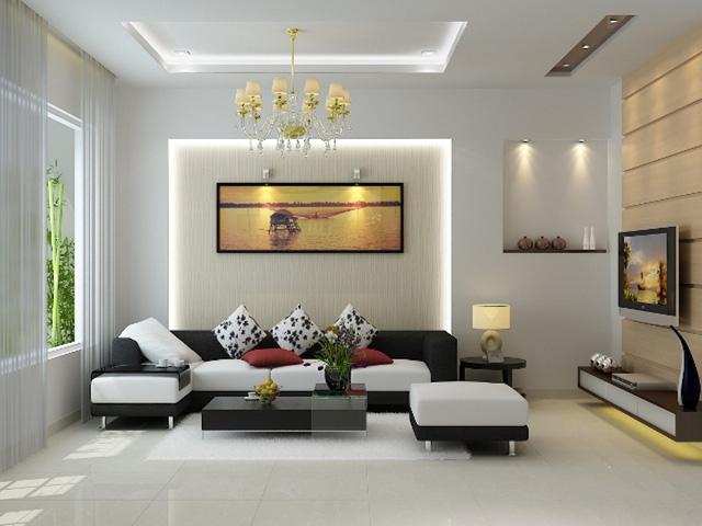 Sofa được thiết kế hiện đại cho nhà chung cư