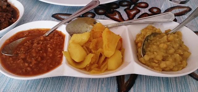 Gibe African Restaurant, Dandenong, vegetarian platter