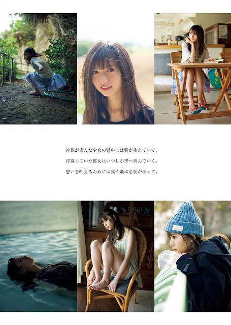 Saito Asuka 齋藤飛鳥 Weekly Playboy 2017 Jan Pictures