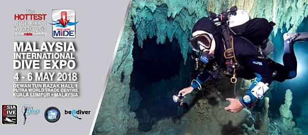 Scuba Diving Expo in Malaysia 2018