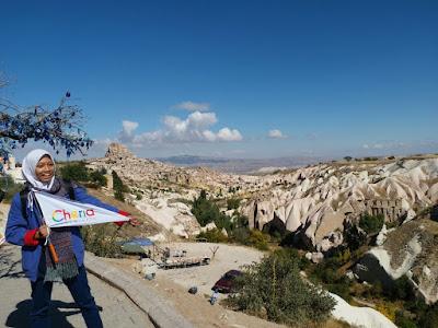 Pemandangan Indah Cappadocia