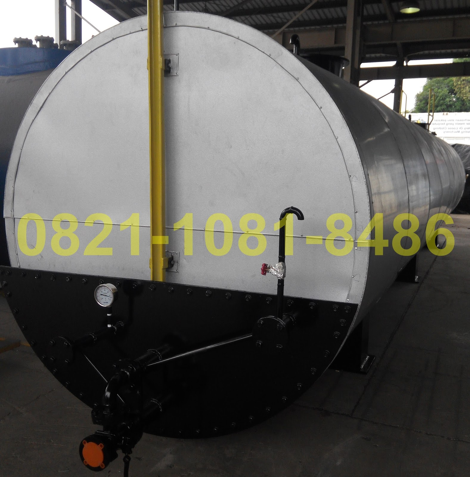 Jasa Fabrikasi Tangki Aspal 30 KL