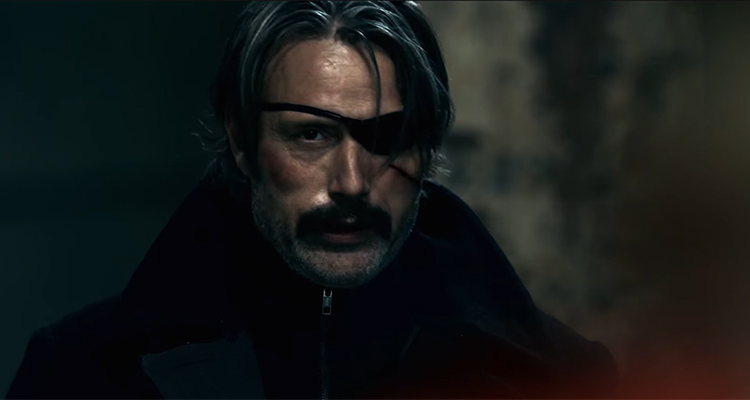 Netflix Film POLAR Trailer Starring Mads Mikkelse & Vanessa