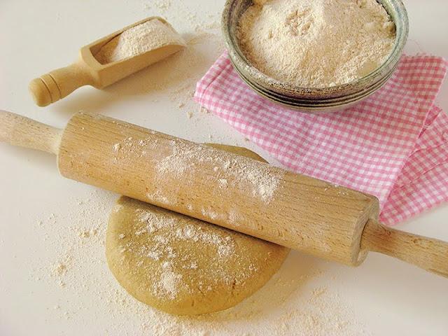 Recette de pâte brisée bio et saine avec de la farine d'orge et de l'huile d'olive