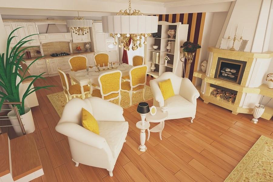design interior bucatarie de lux Constanta