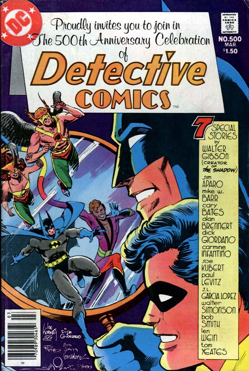 Detective Comics (1937) 500 Page 2