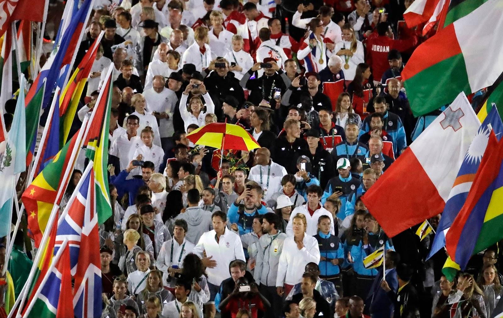 RIO OLYMPICS 2016 CLOSING CEREMONY 17