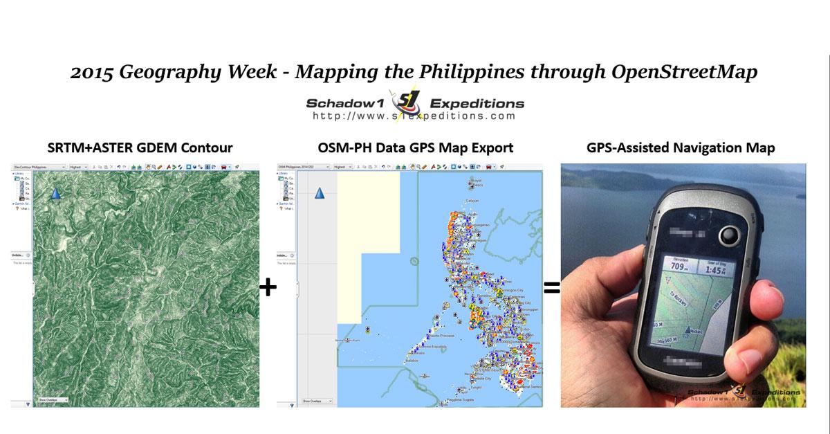2015 Geography Week Presentation Manila