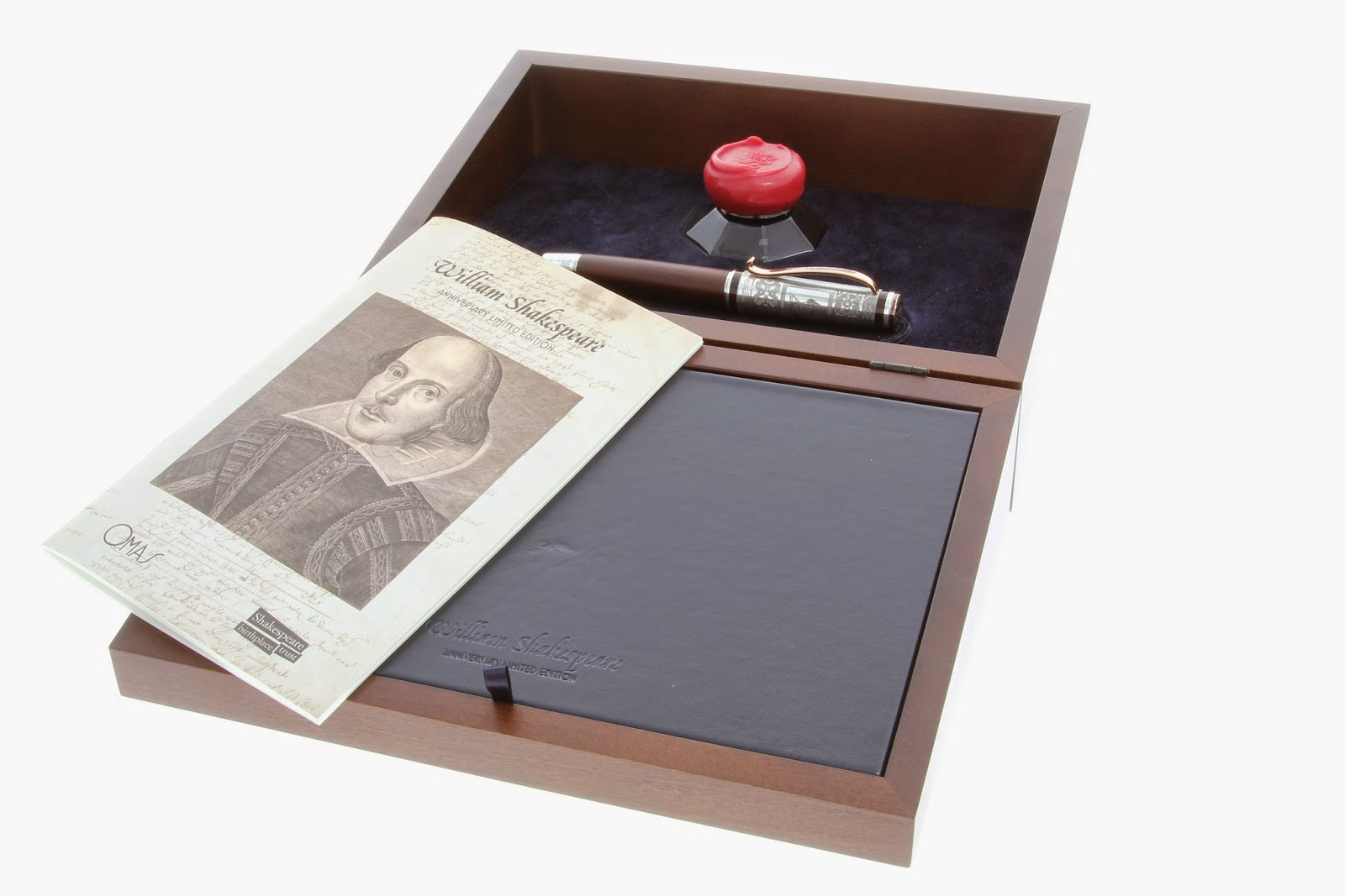 A 360 Look at the OMAS William Shakespeare Limited Edition