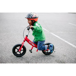Balance Bike is a good way to learn the components of bike riding