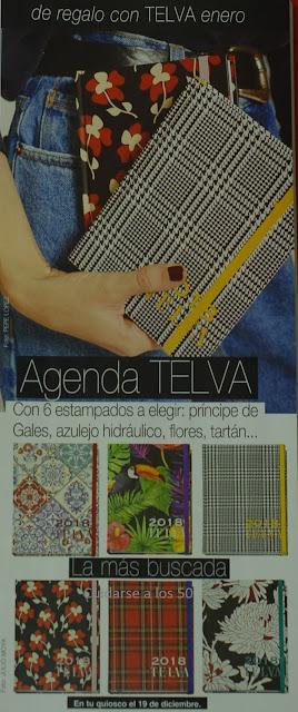 regalo agendas revista Telva