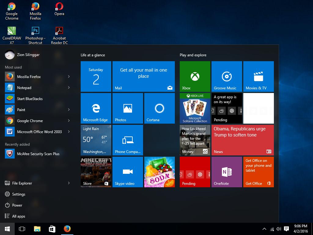 Cara Instal Windows 10 Pro Dengan Menggunakan Flashdisk ...