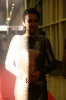Actress Catherine Tresa in Golden Skin Tight Backless Gown at Gautam Nanda music launchi ~ Exclusive Celebrities Galleries 065.JPG