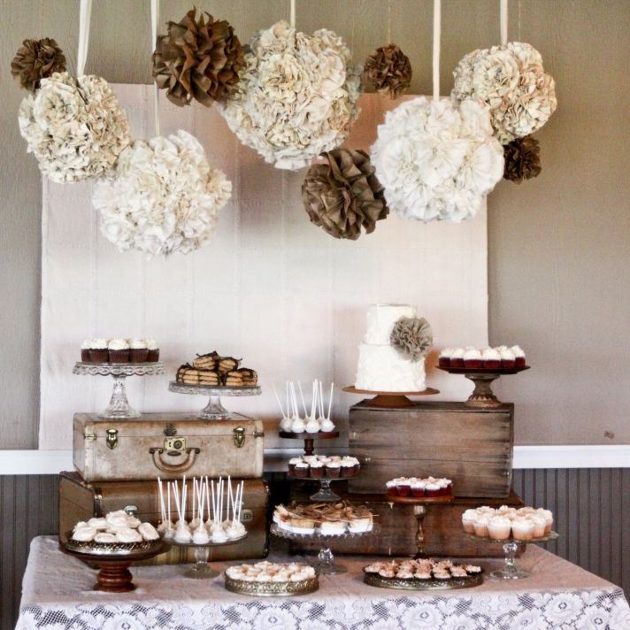 Modern western decor wedding and prom trend Modern fall table decorations