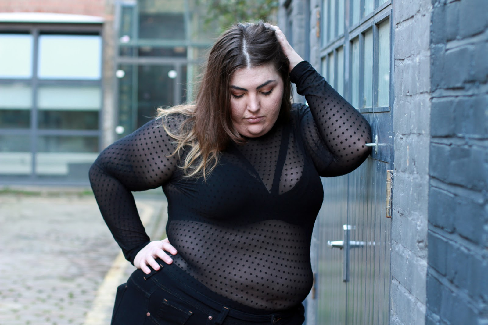 Forever 21+ Plus Size Mesh Top And Harness - Plus Size Style Advice
