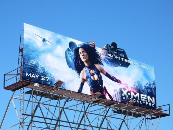 Psylocke X-Men Apocalypse billboard
