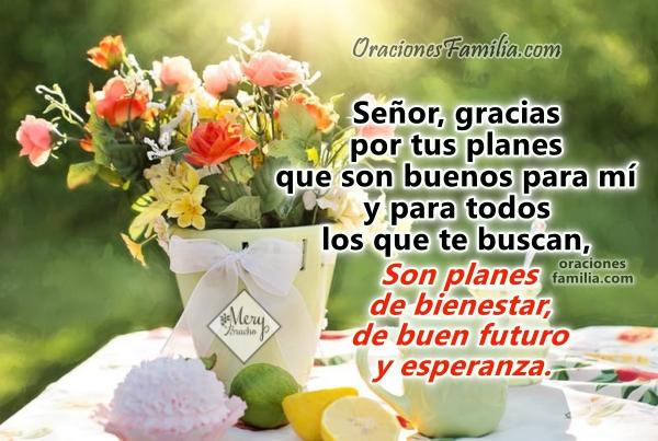 Frases con oración de buenos días, oraciones de la mañana, mensaje cristiano con lindas imágenes para facebook por Mery Bracho.