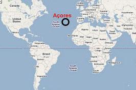 mapa mundo açores Clube Europeu EBI Arrifes: Patrimonio Cultural Europeo mapa mundo açores