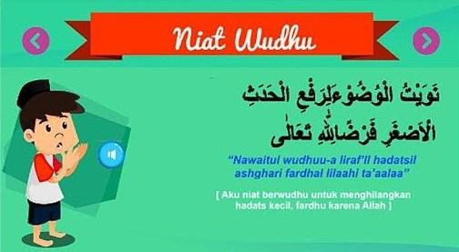 Bacaan Doa Niat Wudhu Lengkap Arab Latin Dan Artinya