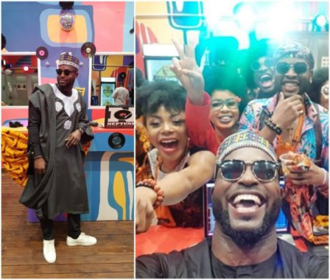 DJ-Neptune-gifts-out-Agbada-he-wore-to-BBNaijas-party-to-Twitter-user