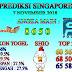 Prediksi Togel Singapore 7 November 2018