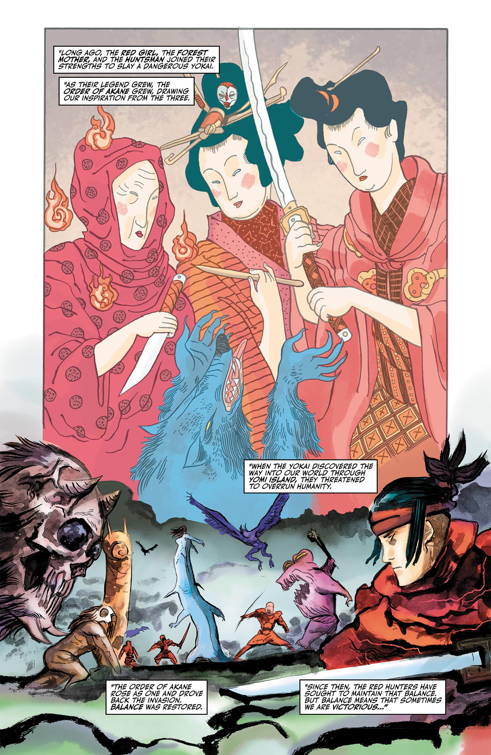 Read online Akaneiro comic -  Issue #2 - 3