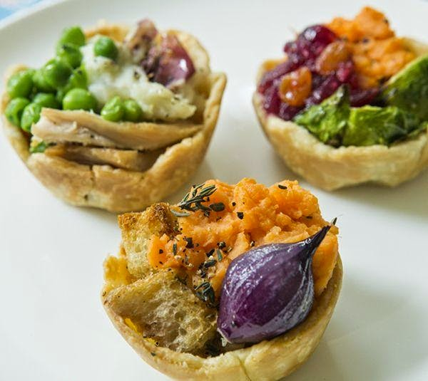 Leftover Pot Pies