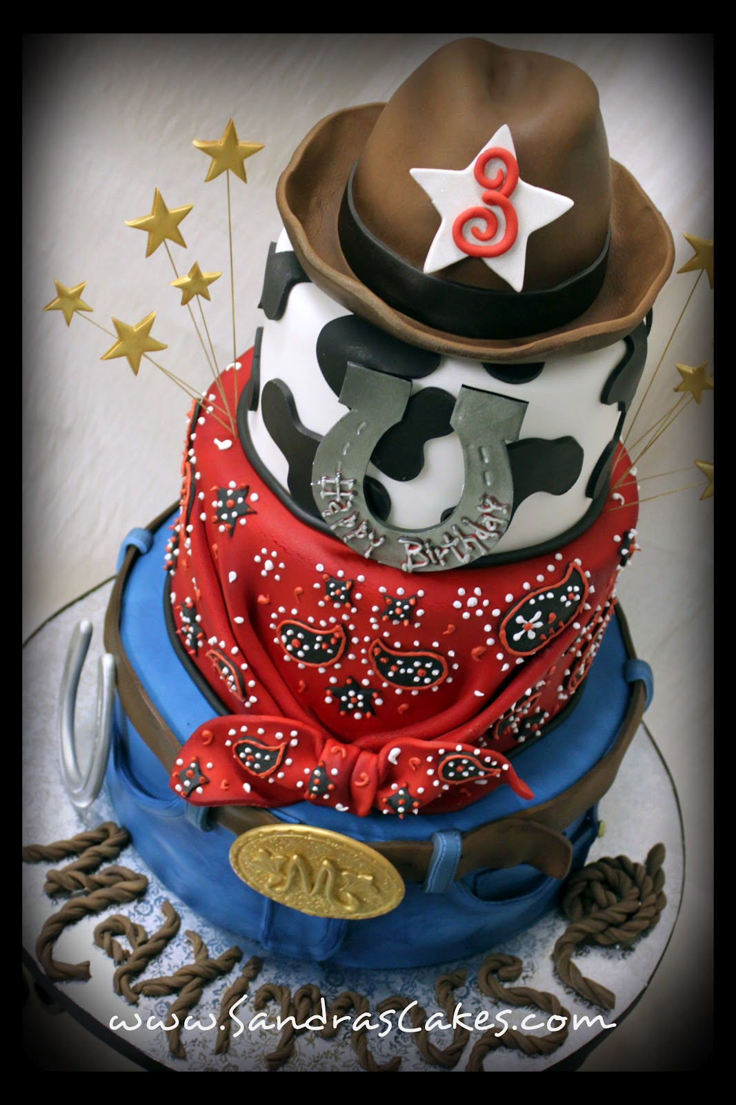Maximu S Cowboy Theme Cake