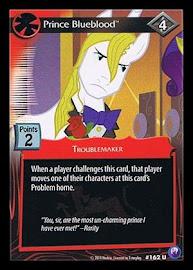 My Little Pony Prince Blueblood Canterlot Nights CCG Card